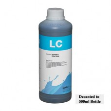 500ml of InkTec K3 Wide Format Ink Light Cyan.