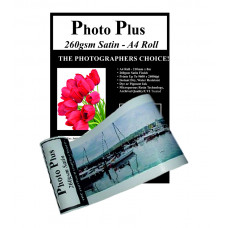 PhotoPlus Photo Paper A4 Panoramic Premium Satin Rolls 260gsm - 210mm x 8m